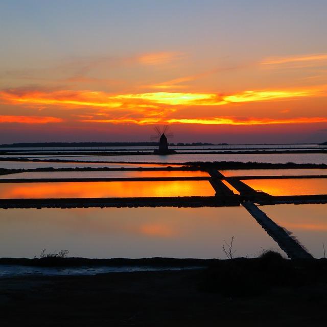 marsala sunset