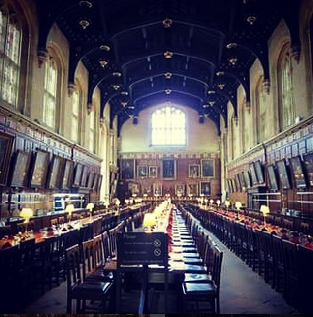 harry potter oxford