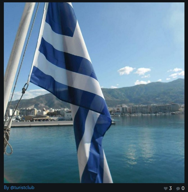 drapelul greciei