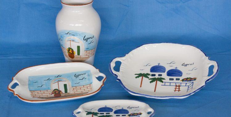 cyprus ceramics suvenir