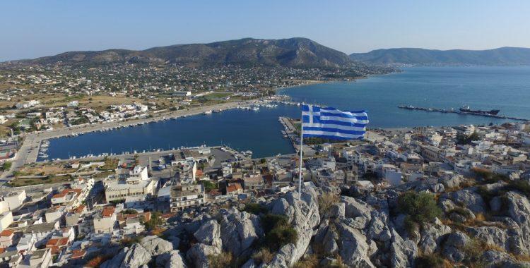 Grecia, vederi aeriene spectaculoase